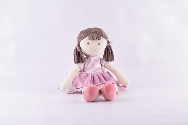 Brook – Barna haj/ rózsaszín ruha