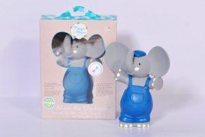 Alvin az Elefánt gumi csörgő játék