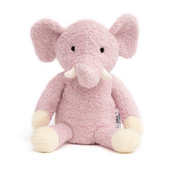 Lila elefánt organikus