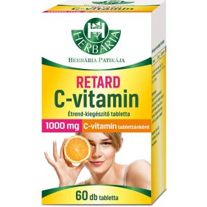 Herbária Retard C-vitamin tabletta 1000mg