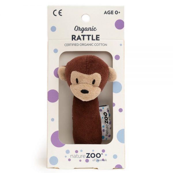 Barna majom csörgő